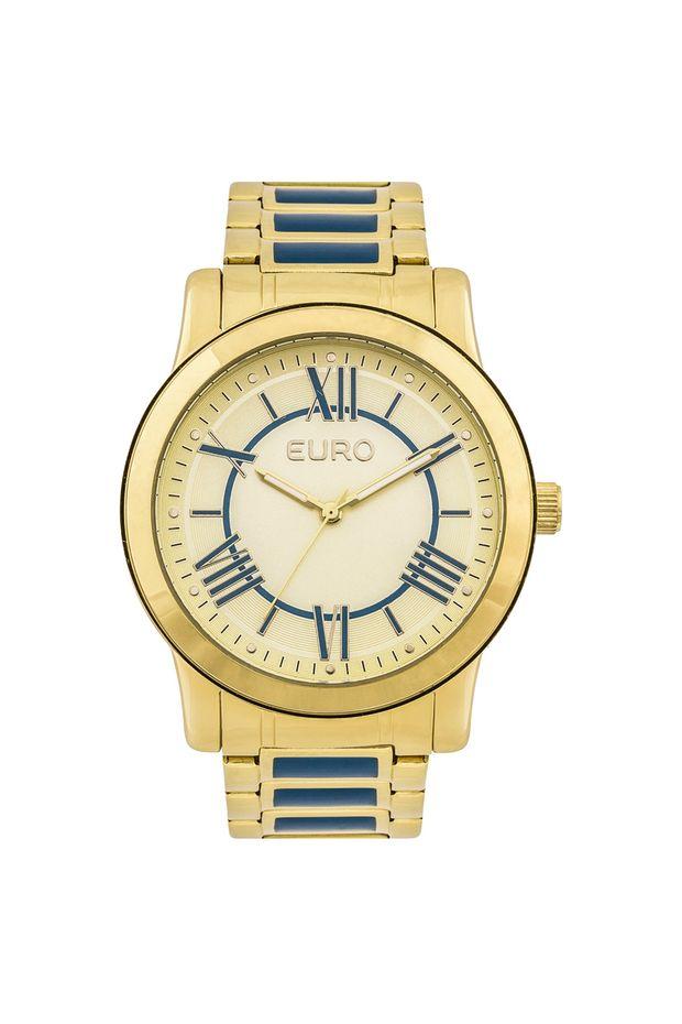 128007712bd77 Relógio Euro Feminino Coleção Esmaltados EU2035YEI 5A - Dourado ...