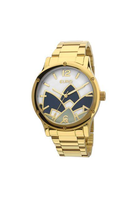 a5fb5b00170 Relógio Euro Feminino Madrepérola Dourado - EU2035YCX 4D