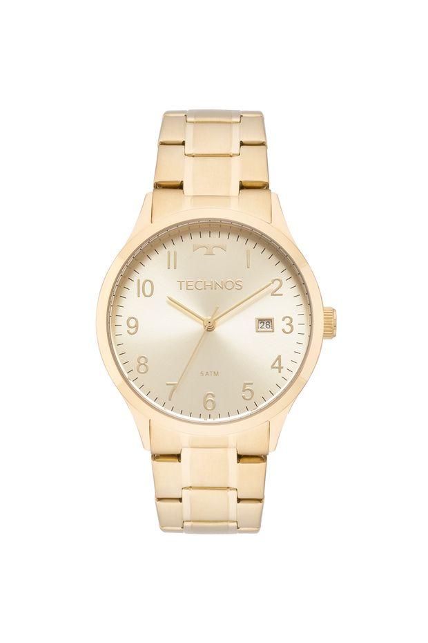 Relógio Technos Feminino Elegance Dress Dourado - 2115MNL 4X - Off ... a04ab4bfc5