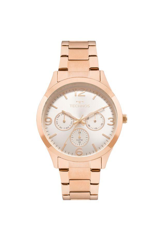 Relógio Technos Feminino Elegance Dress Rosé - 6P29AJM 4K - Off Premium b4e5c5a95e