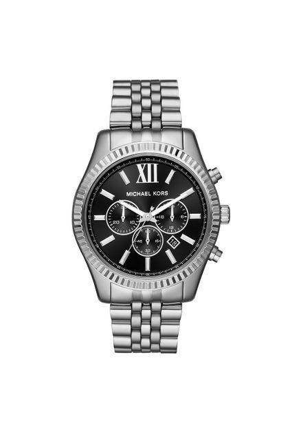 178a469c293 Relógio Michael Kors Feminino Essential Lexington Prata - MK8602 1KN