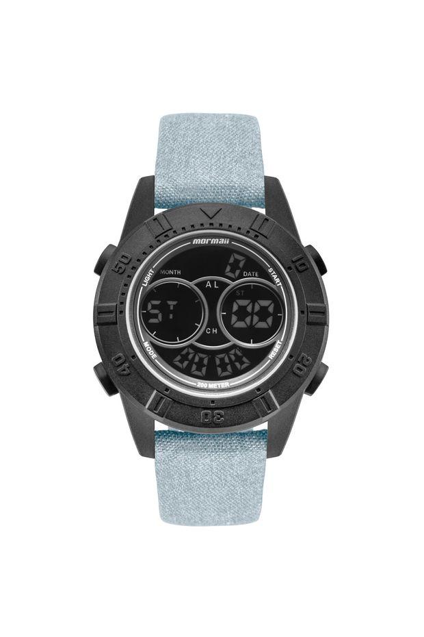 85b4ebd598336 Relógio Mormaii Masculino Acqua Action Preto - MO150915AH 2F - Off ...