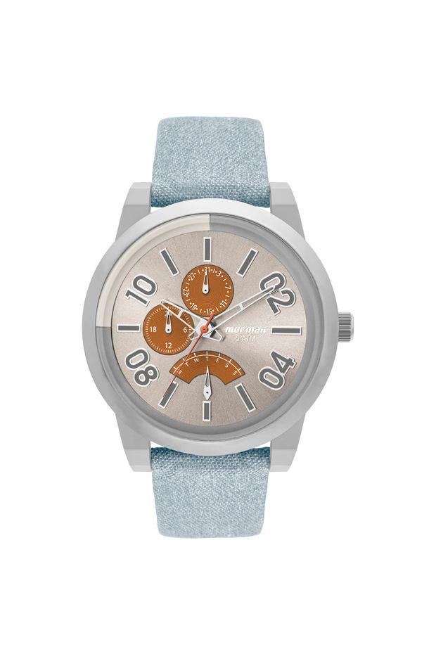 Relógio Mormaii Masculino On The Road Urban Prata - MOJR10AC 2L ... 8ca5143334