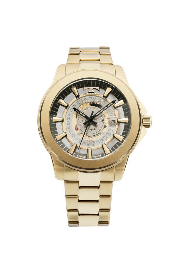 33c5d2741f5 Relógio Technos Masculino Classic Legacy Dourado - F06111AA 4W - Off ...