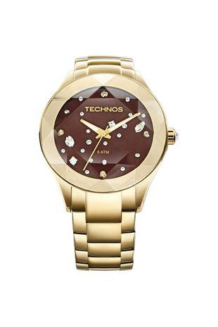 153a0be5fb741 Relógio Technos Crystal Feminino Analógico - 2039AT 4M