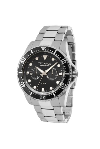 Relógio Technos Masculino Skymaster Analógico - 6P25BG 1P 2106e7bf59