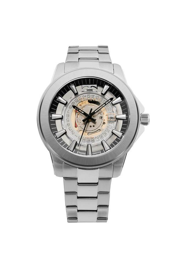 Relógio Technos Masculino Classic Legacy Prata - F06111AB 1W - Off ... 7e42a68bed