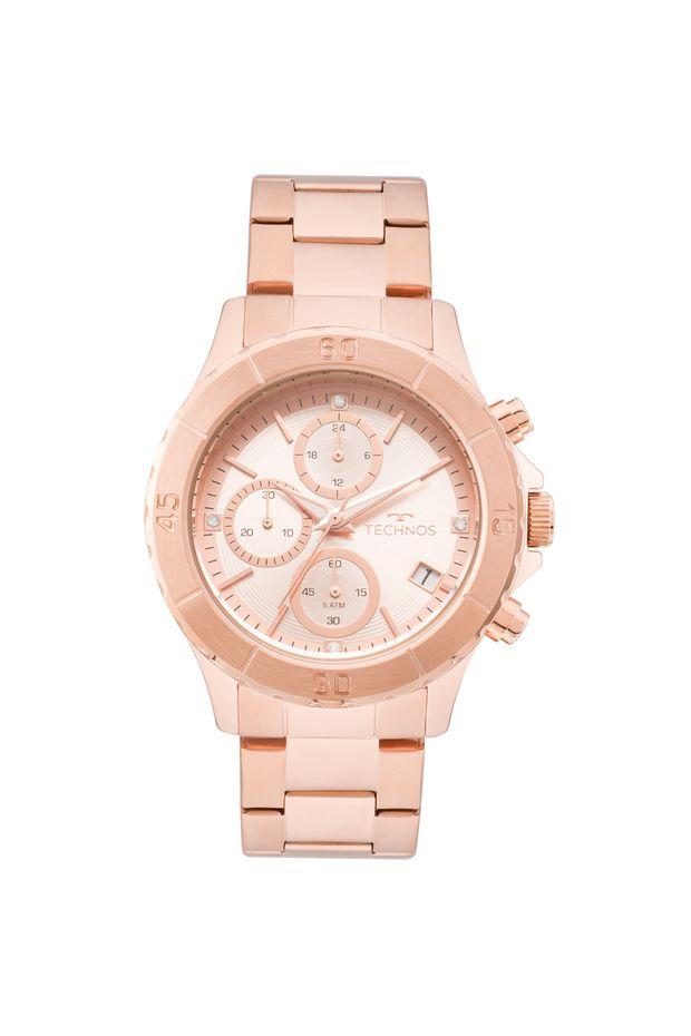 a92099d38eb4b Relógio Technos Feminino Elegance Ladies Rosé - JS15FK 4T - Off Premium