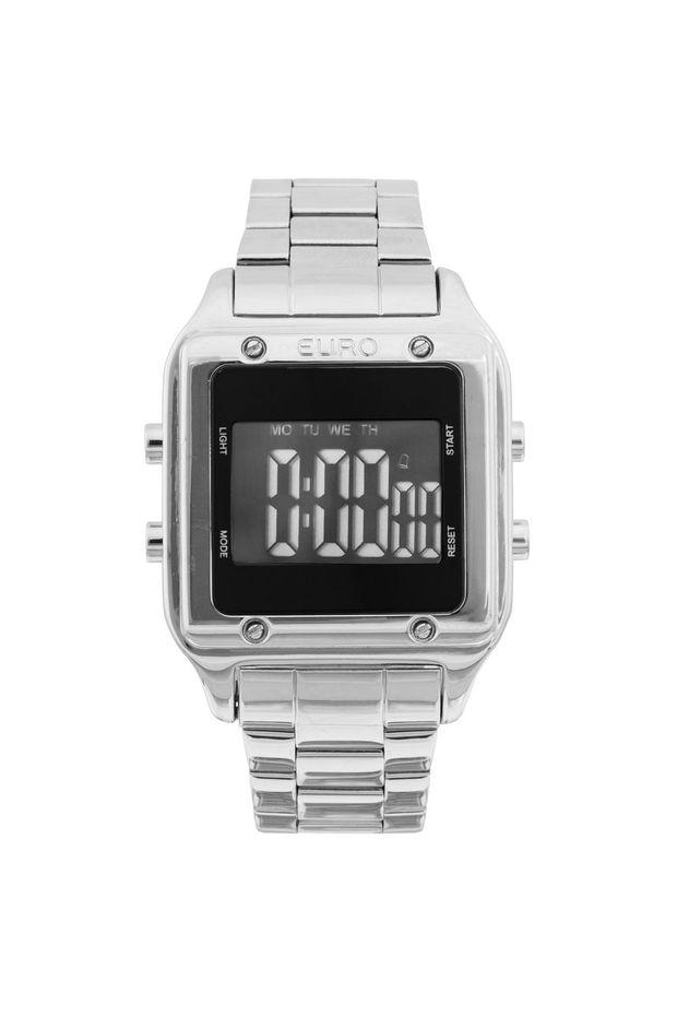 7d97ebb5ac4 Relógio Euro Feminino Fashion Fit EUG2510AB 3P - Prata - Off Premium