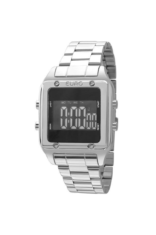 fc98cd09b8f Relógio Euro Feminino Fashion Fit EUG2510AB 3P - Prata - Off Premium