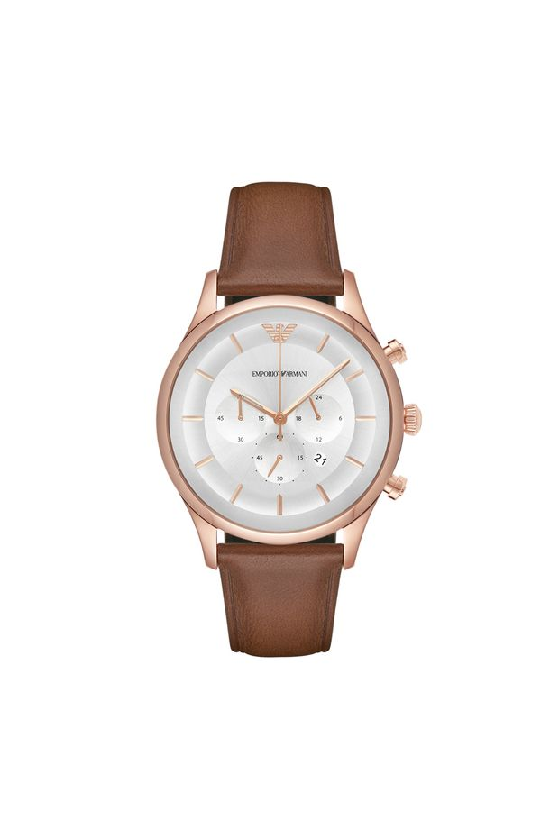be6a10c6e8b Relógio Emporio Armani Masculino Lambda - AR11043 2KN - Off Premium