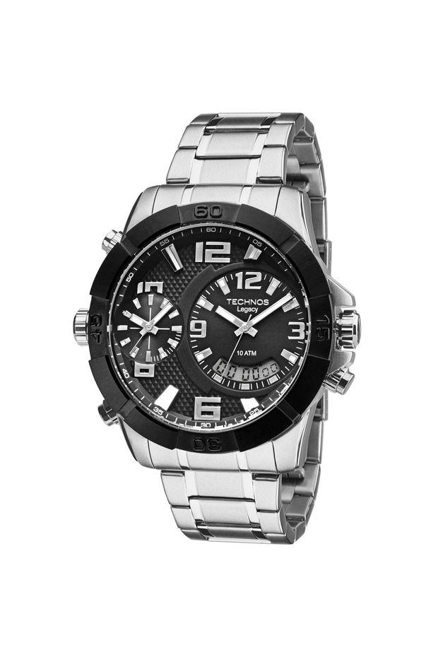 e8f7c67cdd594 Relógio Technos Legacy Masculino Ana Digi - T205FK 3P - Off Premium