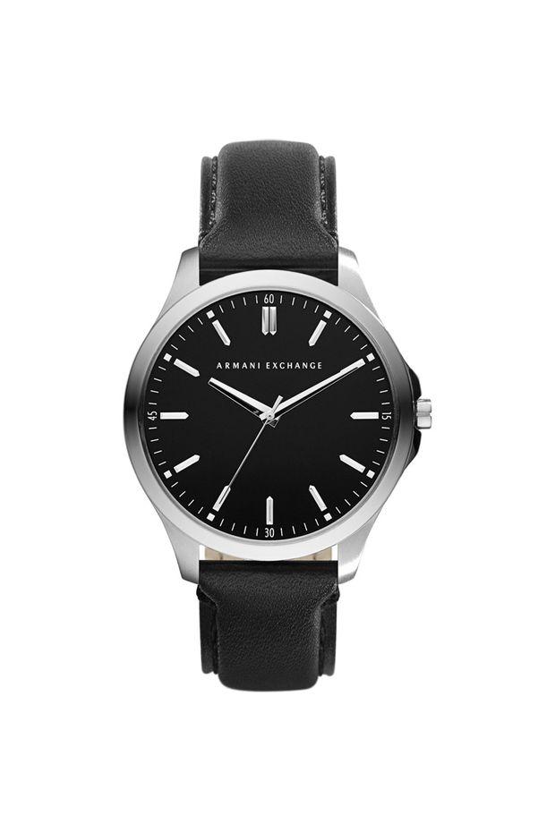 ee1ea50ce1c Relógio Armani Exchange Masculino Prata Hampton - AX2149 0PN - Off ...