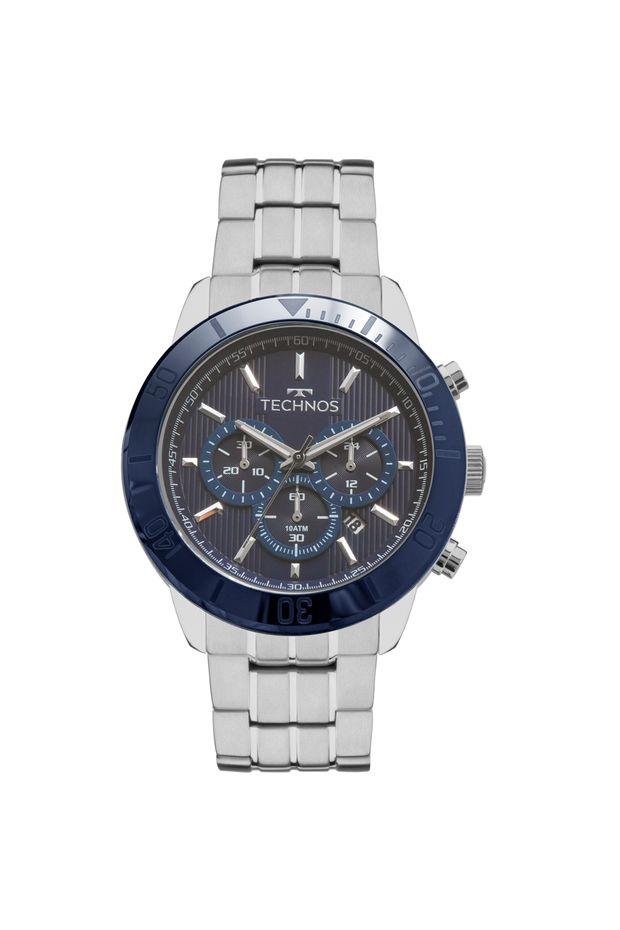 Relógio Technos Masculino Ceramic Saphire JS25BS 1A - Off Premium 60d8ebb65a