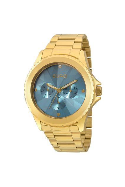 9090eb6b91b Relógio Euro Fumê Dourado - EU6P29AGQ 4A