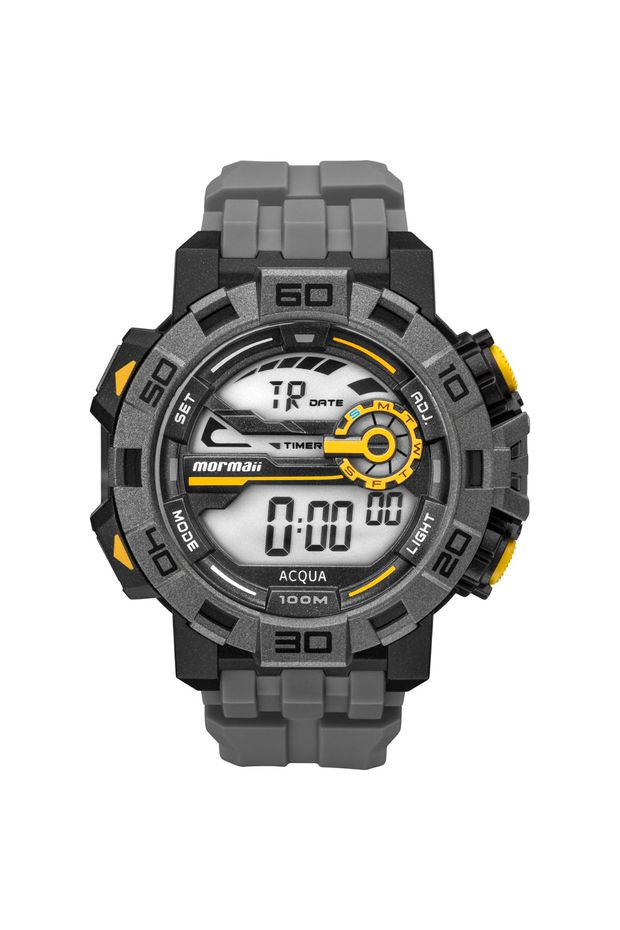 14b5f11e11347 Off Premium · Feminino · Acessórios · Relogios. Relógio Mormaii Masculino  Action - MO1148AC 8C
