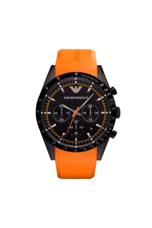 8682a45de51 Relógio Emporio Armani Masculino Laranja - HAR5987 Z - Off Premium