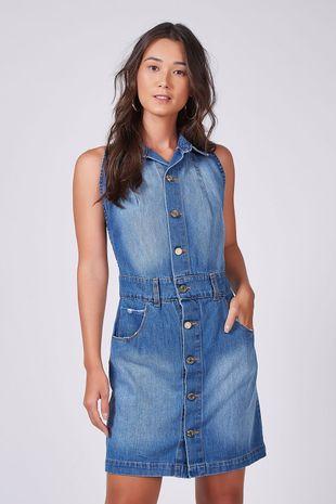 Vestido jeans animale