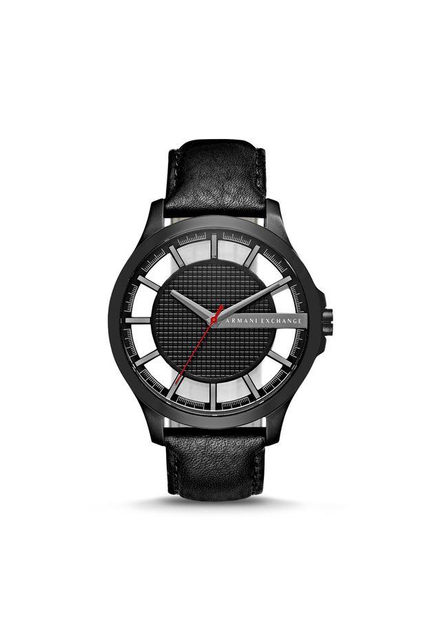 24d56b0b46a Relógio Armani Exchange Masculino Hampton Preto - AX2180 0PN - Off ...