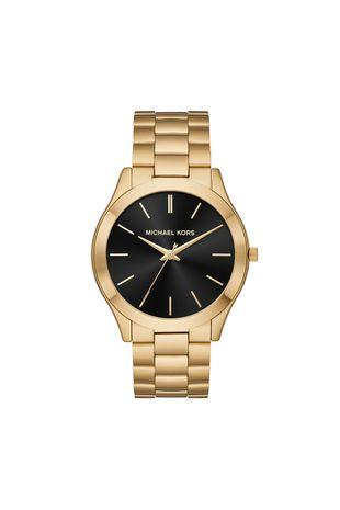a1ce003ef69 Relógio Michael Kors Feminino Slim Runway Dourado - MK8621 1DN