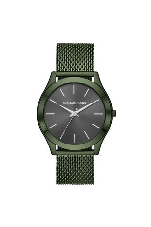 fab8e3b22c8 Relógio Michael Kors Feminino Essential Slim Runway Verde Militar -  MK8608 1VN