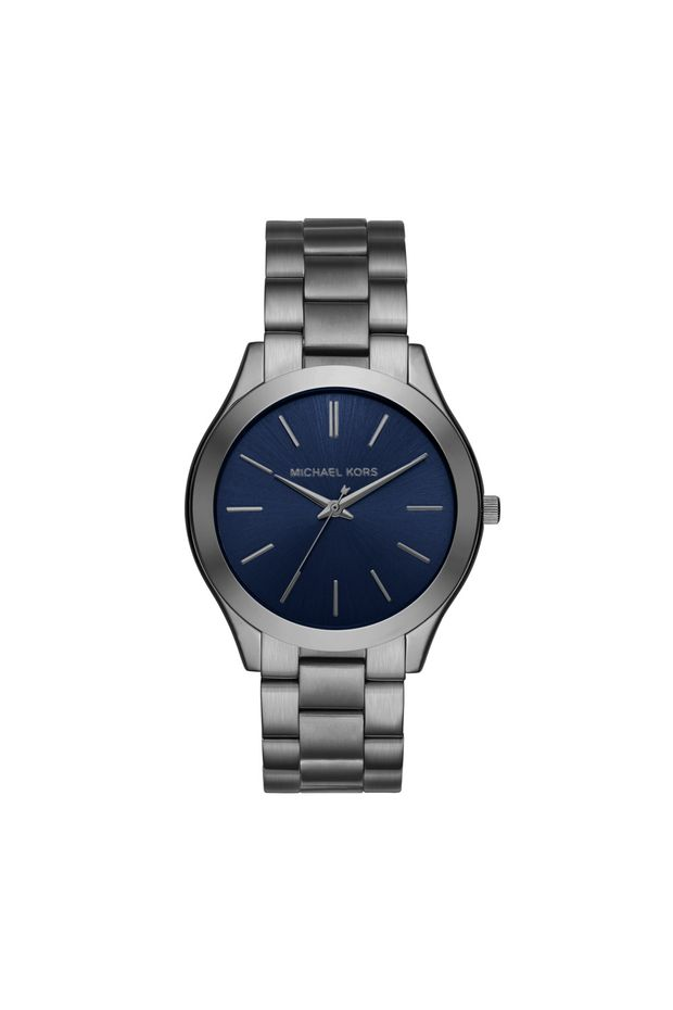 Relógio Michael Kors Feminino Essential Slim Runway Grafite - MK8584 ... 13143b5324
