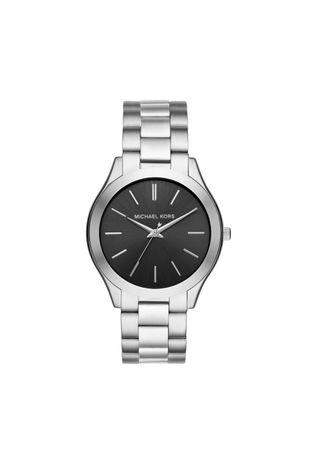 abf229b66fa Relógio Michael Kors Feminino Essential Slim Runway Prata - MK8585 1KN