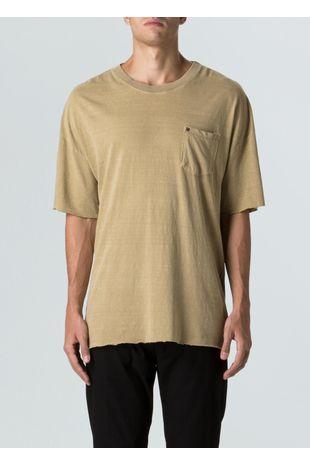 T-Shirt Canhamo Over Pocket