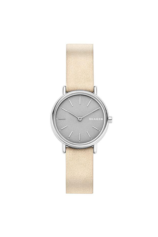 Relógio Skagen Feminino Ladies Signatur Bege - SKW2696 0TN - Off Premium 70698ce9f6