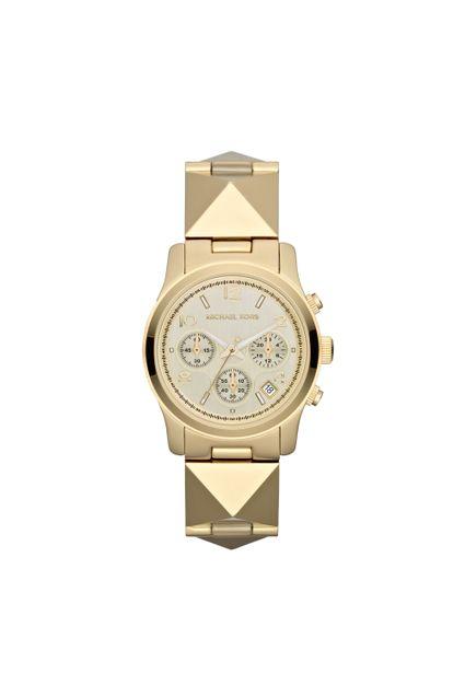 aa8fe6a02ea Relógio Michael Kors Feminino Dourado - MK5797 4DN