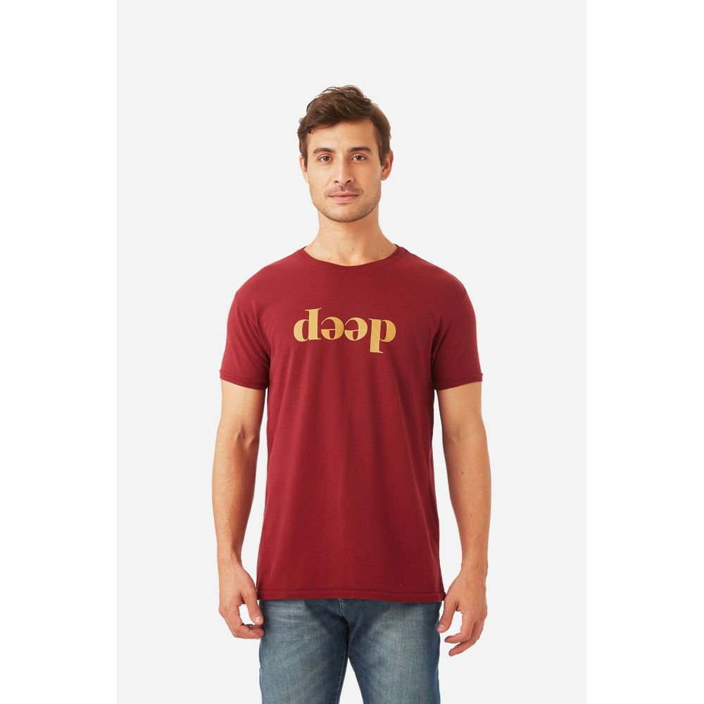 t Shirt Deep Vinho - P