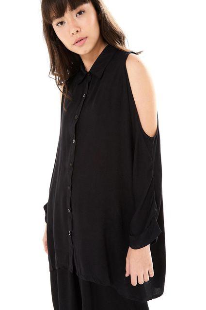 b3a8db807 Camisa Ombro Vazado - Off Premium