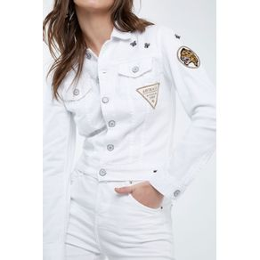 Jaqueta Patches Mini Branco