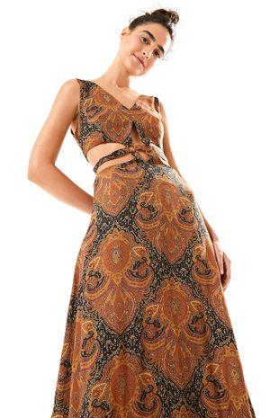 ed64e8ada Vestido Recortes Re Roupa - Off Premium