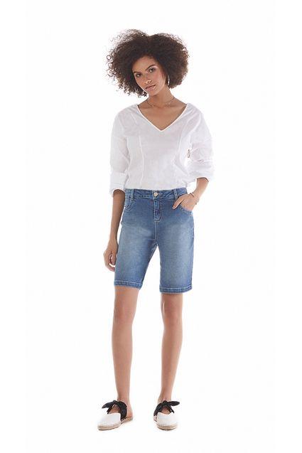 10e20c07f Bermuda Comfort Bolso Diagonal Jeans