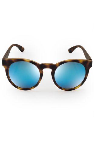 a546ac04c Óculos de sol Euro Feminino Fashion Fit Azul Espelhado - E0001FC697/8A