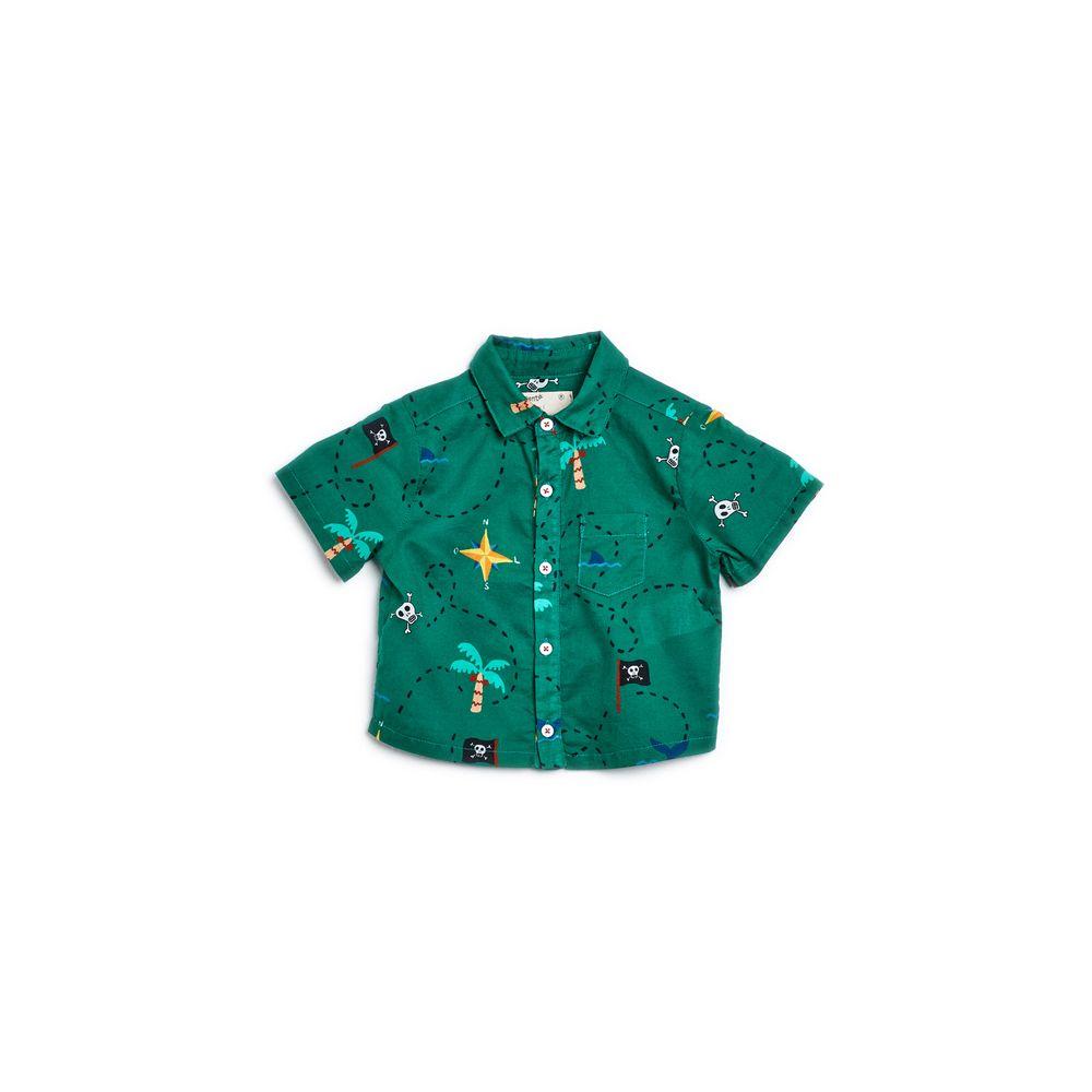 Camisa Bb Chizu Est Chizu Verde Medori - P