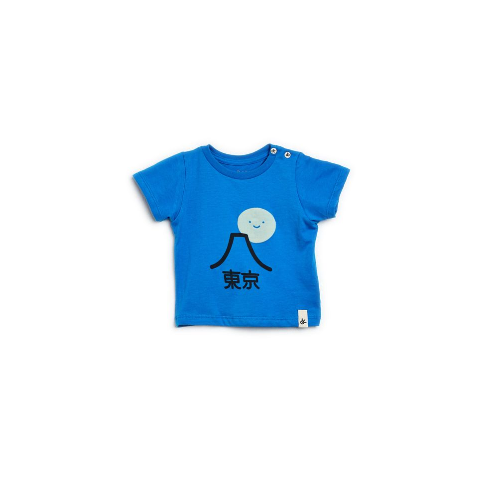 Camiseta Bb Silk Tokyo Azul Koniro - P
