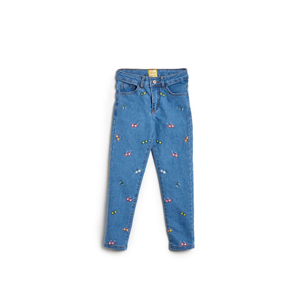 Calca Jeans Bordado Kuru Jeans - 4