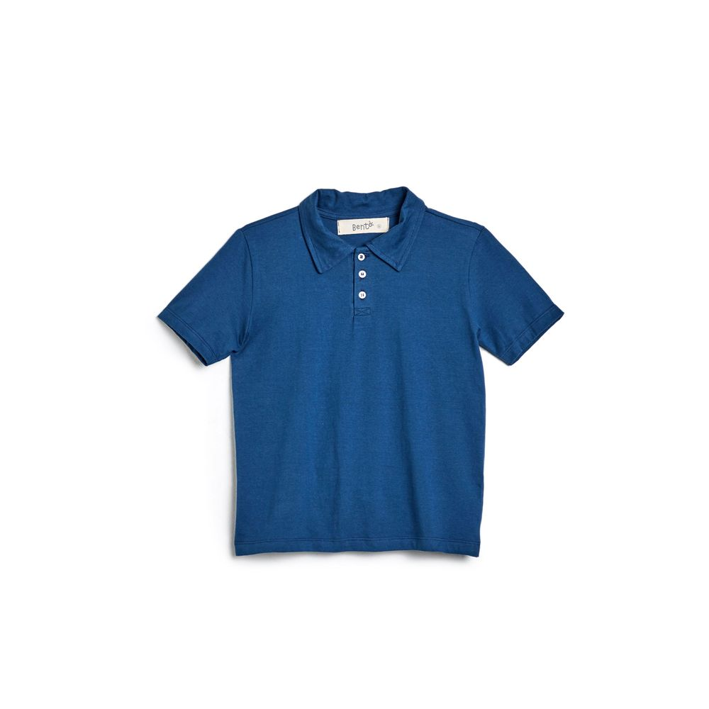 Polo Basica Azul Indigo - 2