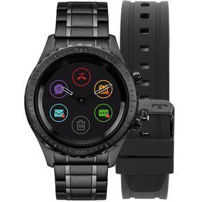 Relógio Technos Connect Duo Preto P01AB/4P P01AB/4P