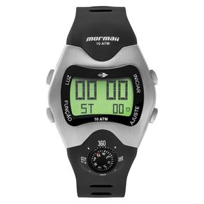 Relógio Mormaii Masculino Bússola Preto MO1324AB/1P MO1324AB/1P