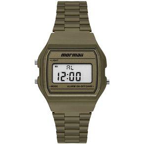 Relógio Mormaii Unissex Vintage Verde MOJH02BK/8V MOJH02BK/8V