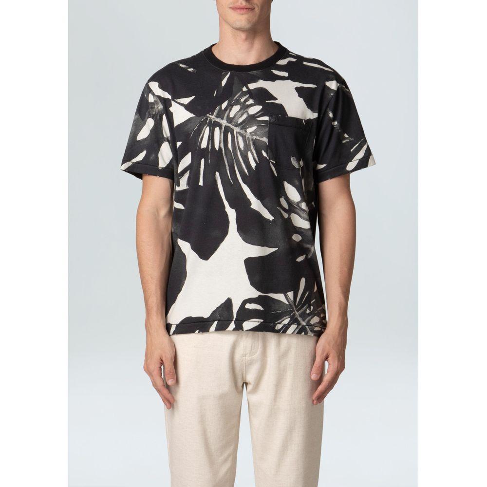 T-Shirt Old Pocket Janeiro Pb-Preto/ Offwhite - G