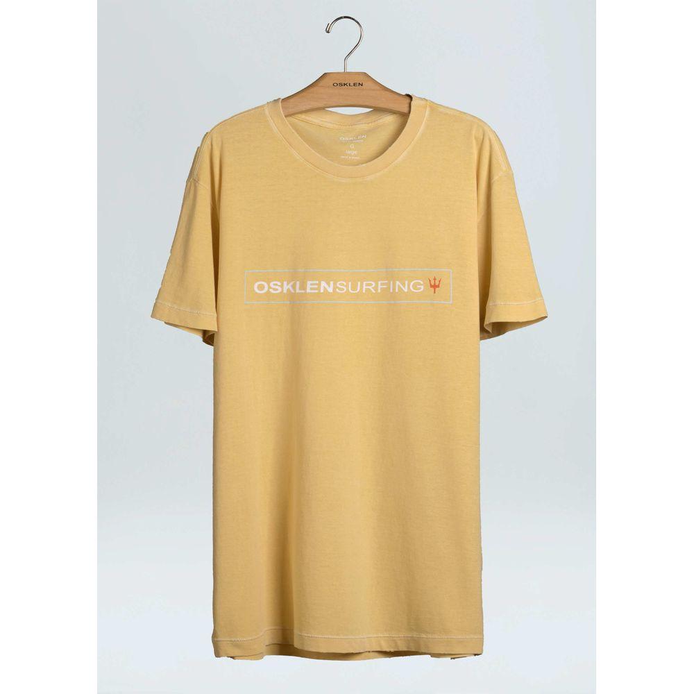 T-Shirt Stone Over Osk Srf Trio-Amarelo Claro - P