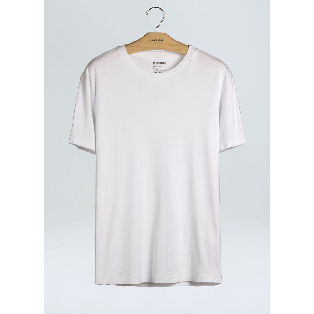 T-Shirt Eco Soft Touch E-Basics-Branco - GG