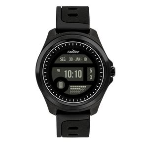 Relógio Condor Masculino Digital + Preto COKW05CAA/8P COKW05CAA/8P