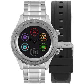 Relógio Technos Connect Duo Prata P01AA/1P P01AA/1P
