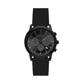 Relógio Euro Feminino Multi Basics Pushers Preto EUJP25AC/8P EUJP25AC/8P
