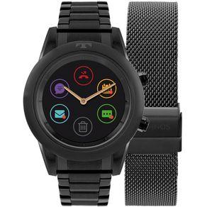 Relógio Technos Connect Duo Preto P01AD/4P P01AD/4P